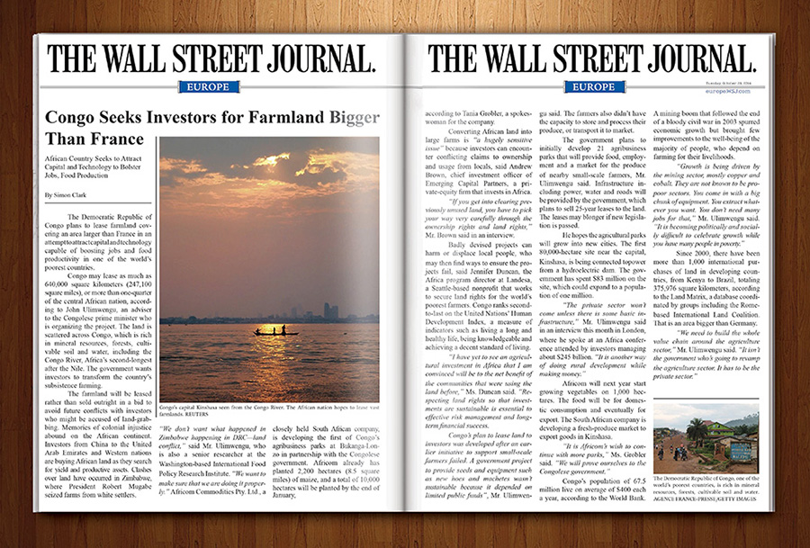 Wall Street Journal 3D English