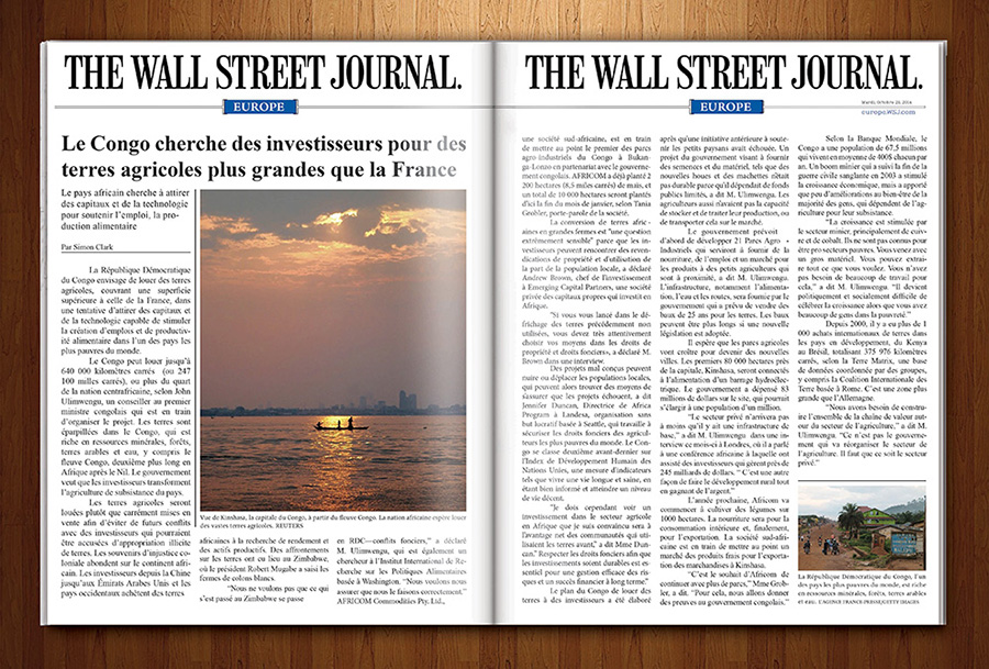 Wall Street Journal 3D French
